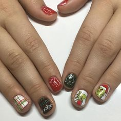 the the the THE GRINCH!! #grinchnails #dallasbeautylounge by dallasbeauty_ashley