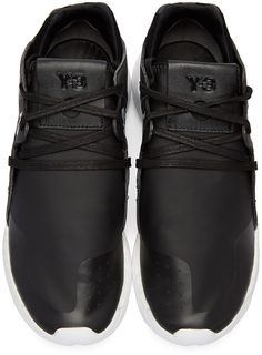 save off 71d10 9619c Y-3 - Black QR Run Sneakers Fashion Shoes, Mens Fashion, Fashion Outfits