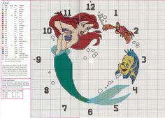 Little Mermaid - Clock
