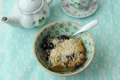 Coconut Cream Baked Oatmeal {from Brown Eggs and Jam Jars}