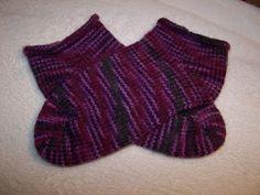 Loom Knitting Meme : Loom knit socks