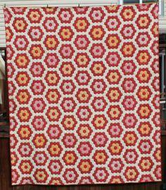 Grandmother 39 S Flower Garden Quilt Pattern Grandmother S Flower Garden Quilt Pattern Patterns