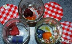Science of Ice, Science of Colour Theory.. and a little bit of love..... ADORE this activity for kids.