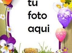 Tarta De Cumpleaños Con Regalos Y Oso Marco Para Foto Candle Jars, Candles, Happy Birthday Gifts, Card Ideas Birthday, Special Birthday, Calamari, Amor, Happy Birthday Funny, Happy Birthday Text