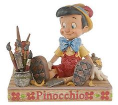 jim shore pinocchio | Jim Shore Disney Traditions Pinocchio Figurine — QVC.com