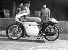 Geoff Duke and Derek Minter in 1963 Classic Motorcycle Pictures