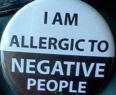 NO Negative People