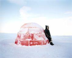 permeated, imbued, pink igloo Scarlett Hooft Graafland