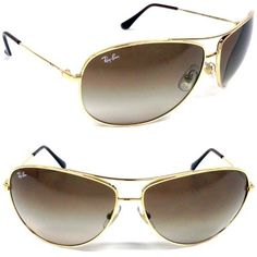 Ray Ban RB3293 Sunglasses - 001/13 Arista (Brown Gradient Lens) - 67mm Ray-Ban. $108.00. Save 22%!