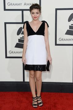 Sarah Hyland in Pucci at the 2014 #Grammys