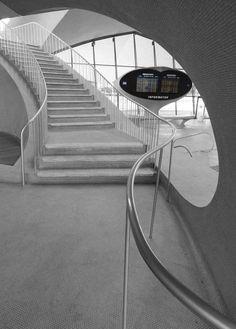 TWA Flight Center, NY by Eero Saarinen, 1962 on Behance