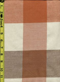 img9418 from LotsOFabric.com! Harvest colors in a versatile buffalo check. Use this piece for drapery or upholstery. Order swatches online or shop the Fabric Shack Home Decor collection in Waynesville, Ohio. #drapery #upholstery #bedding #interior #design #custom #fabrics