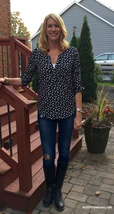 Stitch Fix Reveal October | My Life From Home | www.mylifefromhome.com