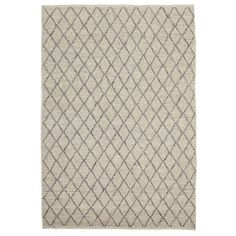 These rugs are delicately handmade from a wool and viscose mix that is soft to the touch and comfortable underfoot. The rugs' textured patterns also provide a unique and classy aesthetic that is complimented by their delicate neutral colour palette.Material: 60% VISCOSE   40% WOOLPile Height: 15mmConstruction: HANDWOVEN