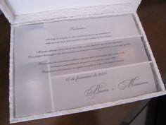 Caixas personalizadas - Convite para padrinho - Carla Colaferri