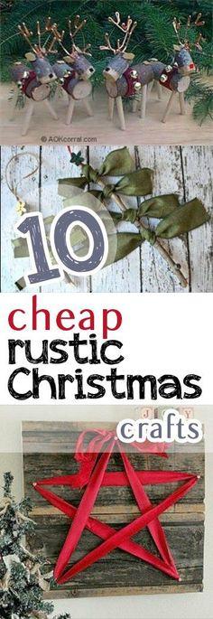 Rustic Christmas Crafts, Christmas Craft Ideas, Rustic Christmas, Handmade Rustic Christmas Crafts, Handmade Holiday Crafts, DIY Holiday, Homemade Holiday Decor, Craft Ideas, Crafts For Christmas, Popular Pin, Holiday Decor, DIY Holiday Decor, Crafts for Christmas.
