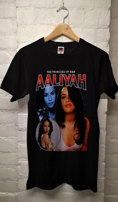 Aaliyah T Shirt, Aaliyah Shirt, Aaliyah Tee, Aaliyah Clothing All Size Aaliyah Shirt, Aaliyah Style, Custom T, Direct To Garment Printer, Shirt Style, Cute Outfits, Girl Outfits, T Shirts For Women, Blazer