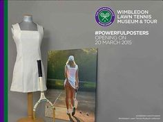 The All England Lawn Tennis Club used the iconic poster, which will be exhibited with the ...