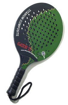 Gator Ti- The Paddle Company- Titanium- Platform Tennis, Paddle Tennis, Beach by Gator. $99.00. Recreational paddle for the occasional player who benefits from a lighter paddle 100% rubber core covered with Graphite and Titanium.