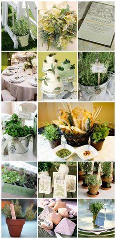 Stylish Wedding and Event Details Herbs Houston Texas Event Design Garden Party Spring Wedding Ideas