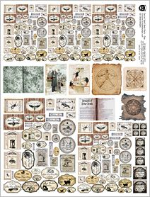Secret Spell Book Parts One Collage Sheet