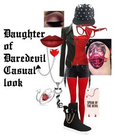 """Daughter of Daredevil Casual Look"" by firegirlx48 ❤ liked on Polyvore featuring BERRICLE, Hey Jo, Kate Spade, Dolce&Gabbana, Bling Jewelry and Theo Fennell"