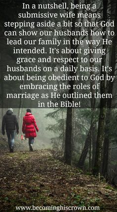 Submitting to our husbands in marriage can be tough! It's not something that is widely talked about, and it takes some practice to get it right. If you've ever wondered how in the world you'll be able to give into submission in marriage as God intended, this post is for you! Click through to read some of the basics I have been learning on how to submit to my husband!