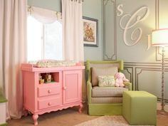 Ever wonder how celebrities decorate? Peek inside their posh nurseries and get baby room decorating ideas from their A-list designers.
