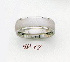 14K White Gold 6.5mm Satin Finished Wedding Band Ring Wedding Ring Bands, Band Rings, Silver Rings, White Gold, Satin, Engagement Rings, Accessories, Jewelry, Enagement Rings