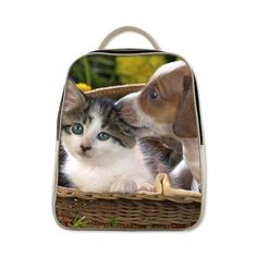 2015 New Arrival Kitten And Puppy Theme Backpack Bestselling Kids School Bag Best Gift For Children >>> Click image to review more details.(This is an Amazon affiliate link and I receive a commission for the sales)