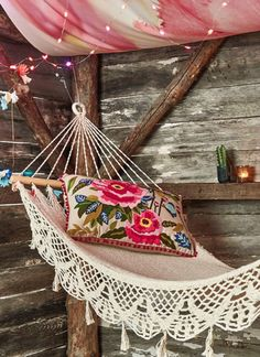 love this woven outdoor hammock                                                                                                                                                                                 More