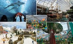 From shark aquariums to ski hills: The world's most eye-popping malls