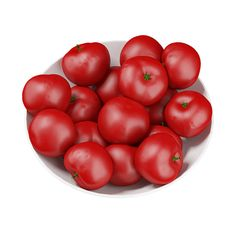 Buy Bowl of Tomatoes by CGAxis on model of red tomatoes in a white bowl. Flower Symbol, Red Tomato, Texture, Vegetables, Flowers, Logos, Surface Finish, Veggies, Logo
