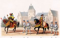Emperor Charles V ruler of the Holy Roman Empire. - State-entry of Emperor Charles V. into Nijmegen