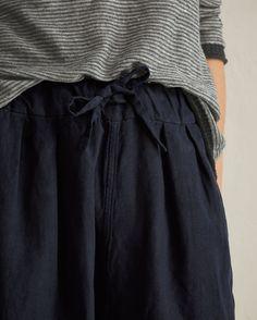 TOAST | Cotton/linen Twill Trousers