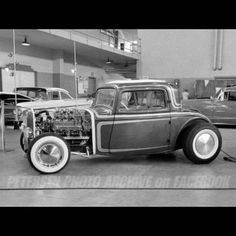 Classic Hot Rod, Classic Cars, Old Hot Rods, Vintage Race Car, Modified Cars, Street Rods, Drag Racing, Car Pictures, Old Cars