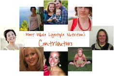 Meet Whole Lifestyle Nutrition's Contributors | WholeLifestyleNutrition.com If you are a mom, blogger, health care professional, photographer, gardener, foodie, traveler or fitness guru you are going to love our new team of writers!
