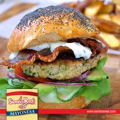 Disfruta el delicioso sabor de Mayonesa Siembra Real, acompaña todas nuestras comidas con sabor y cremosidad, que no falte en tu mesa!
