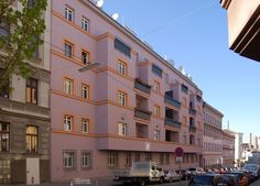 Vienna, Multi Story Building, Architecture, Social Housing, Communities Unit, Prague, Homes, Architecture Illustrations
