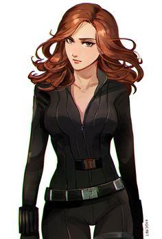 Black Widow ~( • - • )~                                                       …