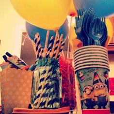 Despicable me birthday party - décoration de fête Détestable moi (Minions)