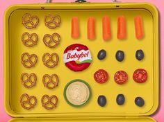 A Mediterranean twist! Babybel Cheese Recipes, Envy, Lunch Box, Food, Essen, Bento Box, Meals, Yemek, Eten