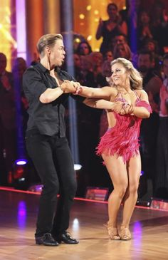 Dancing With The Stars: All-Stars Week 10 Derek Hough and Shawn Johnson