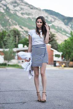 DIY asymmetrical wrap skirt