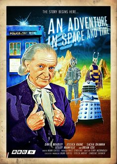 Blogtor Who: An Adventure in Space & Time poster art