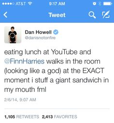 This was in his and Louise's list of awkward moments video British Youtubers, Best Youtubers, Finn Harries, Bae, Danisnotonfire And Amazingphil, Meme Lord, Phil Lester, Daniel James Howell, Markiplier