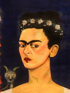 FRIDA KAHLO : artist, survivor, chronic pain and illness sufferer, musician, painter, photographer, animal lover, model, and had a known tumultuous but passionate relationship with her husband.