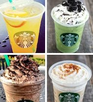 starbucks drinks you can order