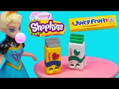 Season 2 Shopkins: How To Make Banana Splitty Polymer Clay Tutorial! Plastic Canvas Tissue Boxes, Plastic Canvas Patterns, Juicy Fruit Gum, Shopkins Season 2, Cookie Swirl C, Moose Toys, Monster High Custom, Polymer Clay Charms, Monster High Dolls