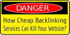 How Cheap Backlinking Services Can Kill Your Website?  If You Are Thinking To #Buy #Cheap #Backlinks For Your #Site To Make Its #PR #Boost Then Its Completely Equal Killing YourSelf. Read The Fact About How Cheap #Backlinking #Services Can #Kill Your #Website?  #Article: www.exeideas.com/2013/11/cheap-backlinking-services-can-kill.html